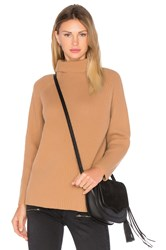 Demy Lee Rita Turtleneck Sweater Brown