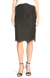 Cece By Cynthia Steffe Corded Lace Pencil Skirt