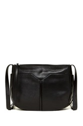 Christopher Kon The Edge Leather Crossbody Black