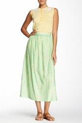 Love Moschino Floral Maxi Skirt Green