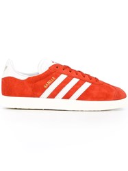 Adidas Originals 'Gazelle' Sneakers Yellow Orange