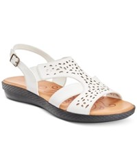 Easy Street Shoes Bolt Sandals Women's White