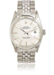 Vintage Watch Women's Oyster Perpetual Datejust Silver