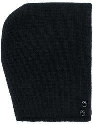 Golden Goose Deluxe Brand Knitted Beanie Wool Black