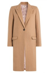 Zadig And Voltaire Coat With Wool Camel