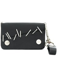 Ktz Pinned Wallet Calf Leather Black