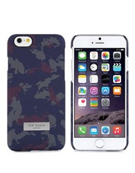 Ted Baker Channon Camo Iphone 6 Case Knit Camo