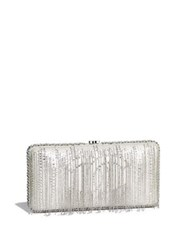 Chanel Evening Bag Silver
