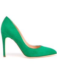 Rupert Sanderson Malory High Heel Pumps Green