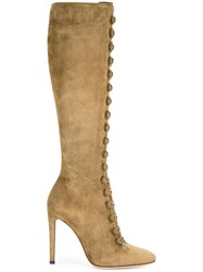 Gianvito Rossi 'Imperia' Knee High Boots Green
