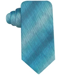 John Ashford Sharkskin Fashion Solid Tie Aqua