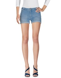 Fracomina Denim Shorts Blue