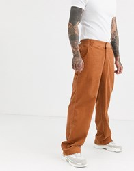 Fila Carmelo Cord Pants In Bran Tan