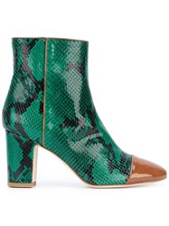 Polly Plume Ally Boots Women Leather 37 Green