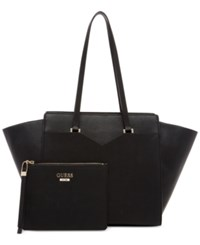 Guess Bryanna 2 In 1 Privy X Large Tote A Macy's Exclusive Style Black
