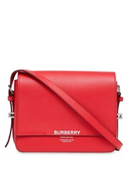 Burberry Small Leather Grace Bag Red