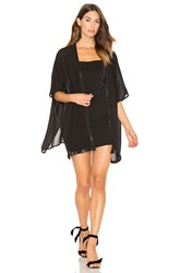 Bishop Young Holiday Kimono Black