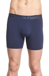 Men's Calvin Klein 'Iron Strength' Boxer Briefs Blue Shadow