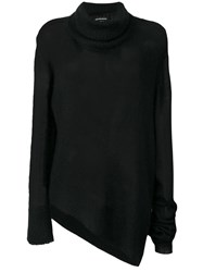 Ann Demeulemeester Asymmetric Knitted Sweater 60