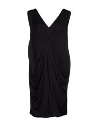G.Sel Knee Length Dresses Black