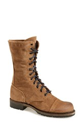 Women's Vintage Shoe Company 'Molly' Boot Cork Suede