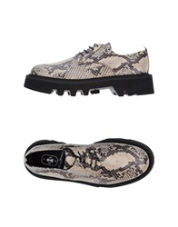 Bruno Bordese Lace Up Shoes Dove Grey
