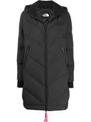 The North Face Hooded Padded Coat Black