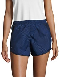 Under Armour Geometric Active Shorts Blue