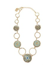 Rosantica By Michela Panero Sicilia Tile Necklace Multi