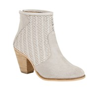 Ravel Queensbury High Block Heeled Boots Grey