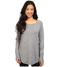 Pendleton Josephine Pullover Soft Grey Heather Women's Clothing Gray