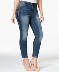 American Rag Plus Size High Rise Ripped Skinny Jeans Amilina Wash Only At Macy's