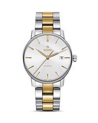Rado Coupole Classic Automatic Watch 38Mm Silver Gold