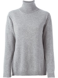 Studio Nicholson 'Miller' Split Sweater Grey