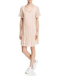 Sanctuary Holly Floral Eyelet Peasant Dress Cameo Pink