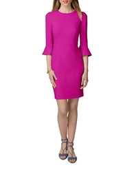 Donna Morgan Bell Sleeve Sheath Dress