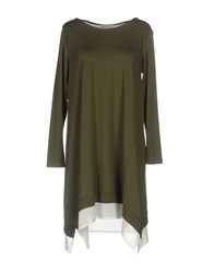 Hope Collection Short Dresses Military Green