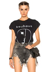 R 13 R13 Bauhaus Graphic Tee In Gray