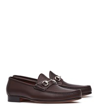 Reiss Verona Ii Mens Allen Edmonds Calfskin Loafers In Brown