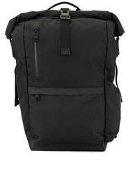 As2ov Roll Top Backpack Black