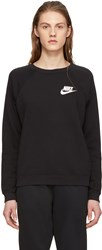 Nike Black Rally Crewneck Sweatshirt
