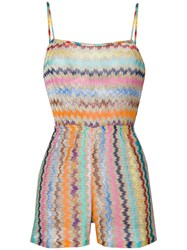 Missoni Zigzag Playsuit Multicolour