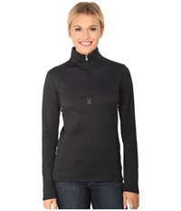 Spyder Savona Therma Stretch T Neck Black Women's Long Sleeve Pullover