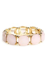 Junior Women's Bp. Stone Stretch Bracelet Pink Gold