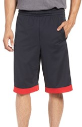 Under Armour Men's 'Isolation' Athletic Shorts Black Red