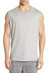 Men's Bench. 'Musing' Tank Grey Marl
