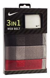 Men's Nike Web Belts 3 Pack