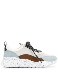 Bally Bitti Colour Block Sneakers Blue