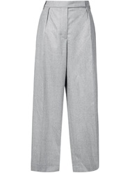 Carven Wide Leg Trousers Grey
