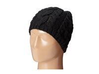San Diego Hat Company Cable Stitch Knit Beanie Black Beanies